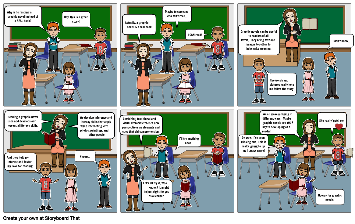 Multiliteracy - Graphic Novels