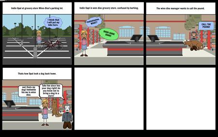 winn-dixe comic strip project