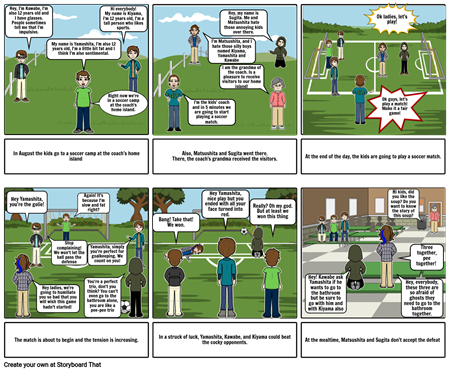 The Friends Story Board (Project)