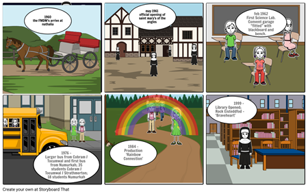 pe: julia brown storyboard