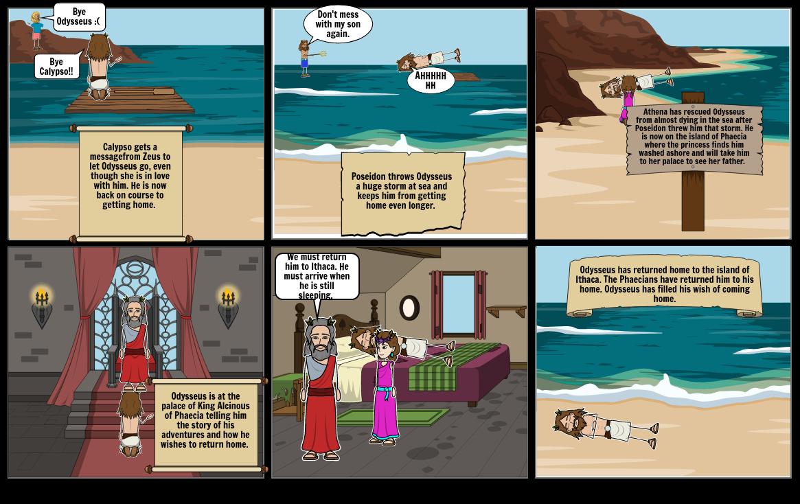 StoryBoard Odysseus