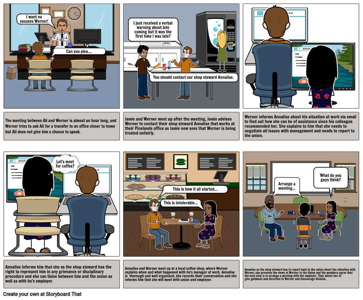 Story board 2 continued3