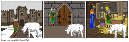 A VIKING'S QUEST Storyboard #1