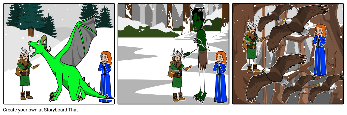 A VIKING'S QUEST Storyboard #2