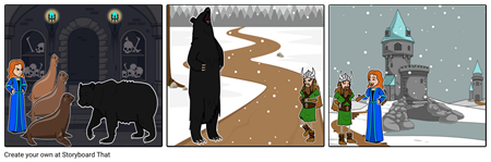 A VIKING'S QUEST Storyboard #4