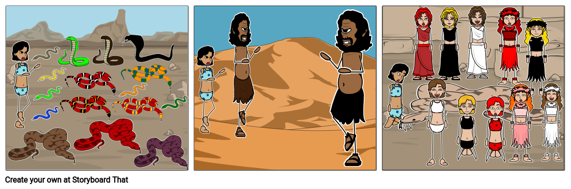 Good 1001 Arabian Nights To Great Diving Beetles Storyboard #3