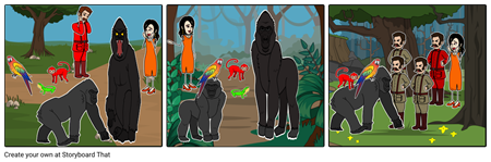 GORILLA QUEST STORYBOARD #9