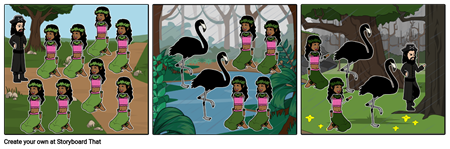 Merry Christmas Island To The Frigate Birds Storyboard #6