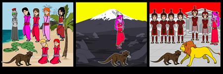 Odyssey Of A European Greek Otter Storyboard #4