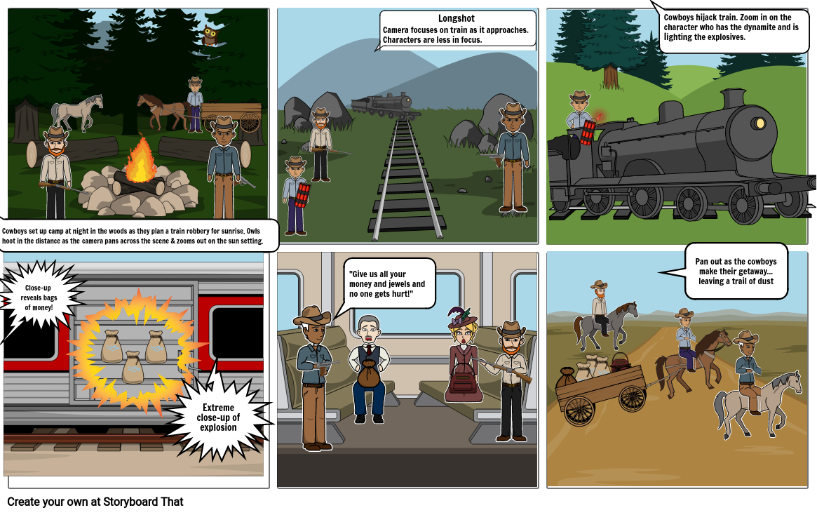 Storyboard - Red Dead Redemption