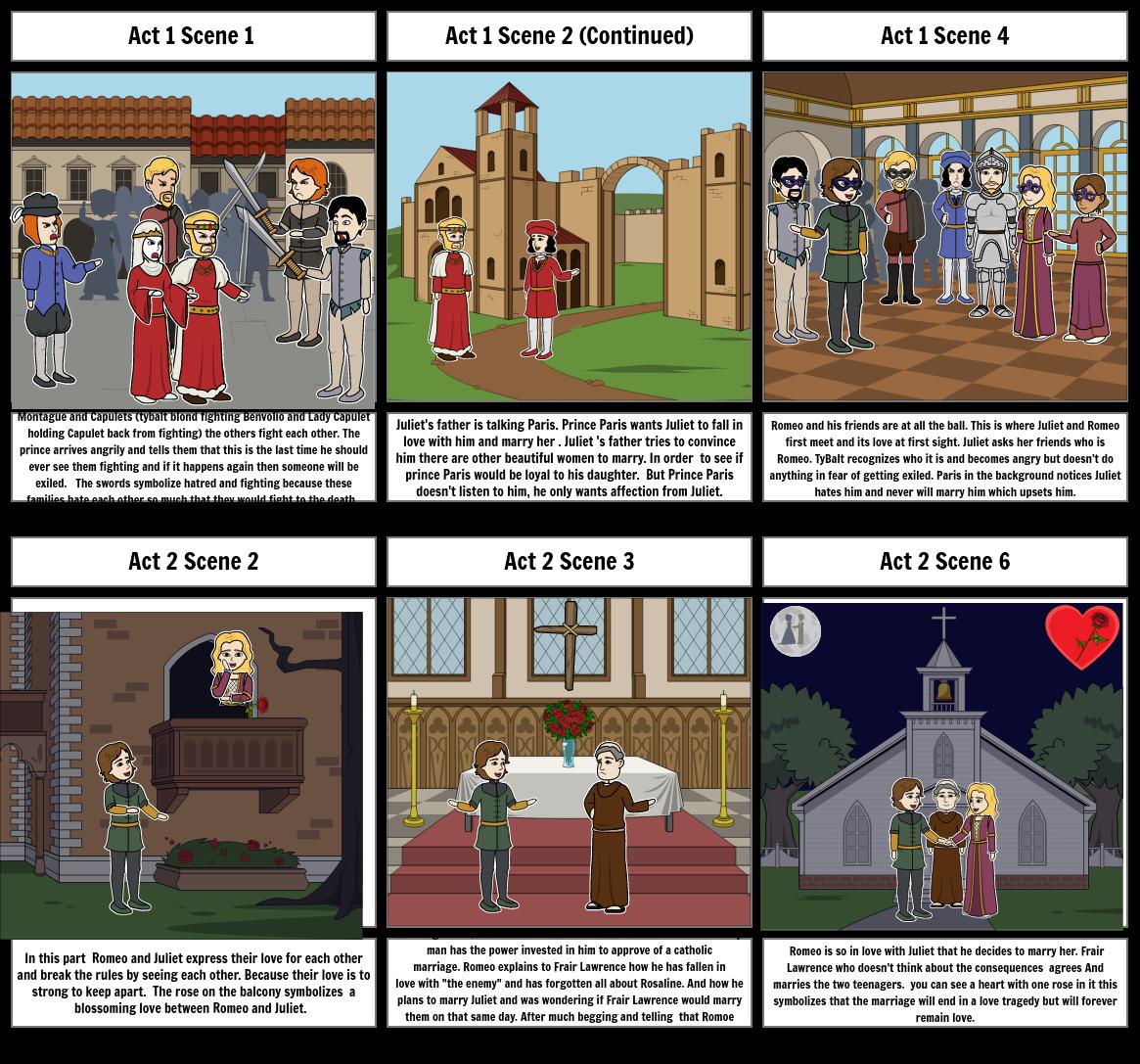 R+J comic project