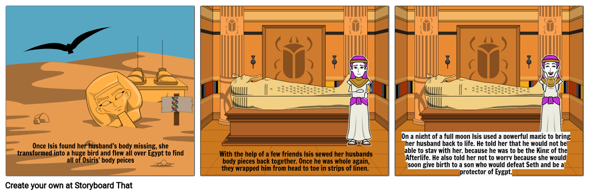 Osiris and Isis Continued