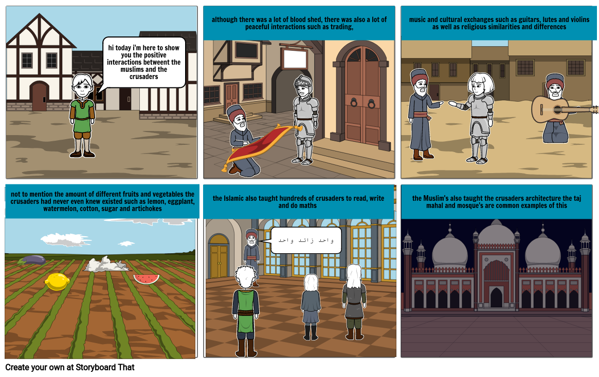 positive interactions from the crusades