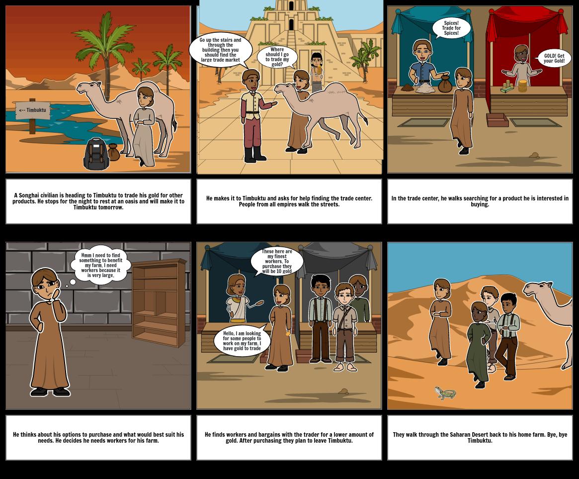 Songhai Storyboard