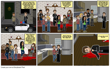 Graphic Novel- What Happened to Abigail Evans?