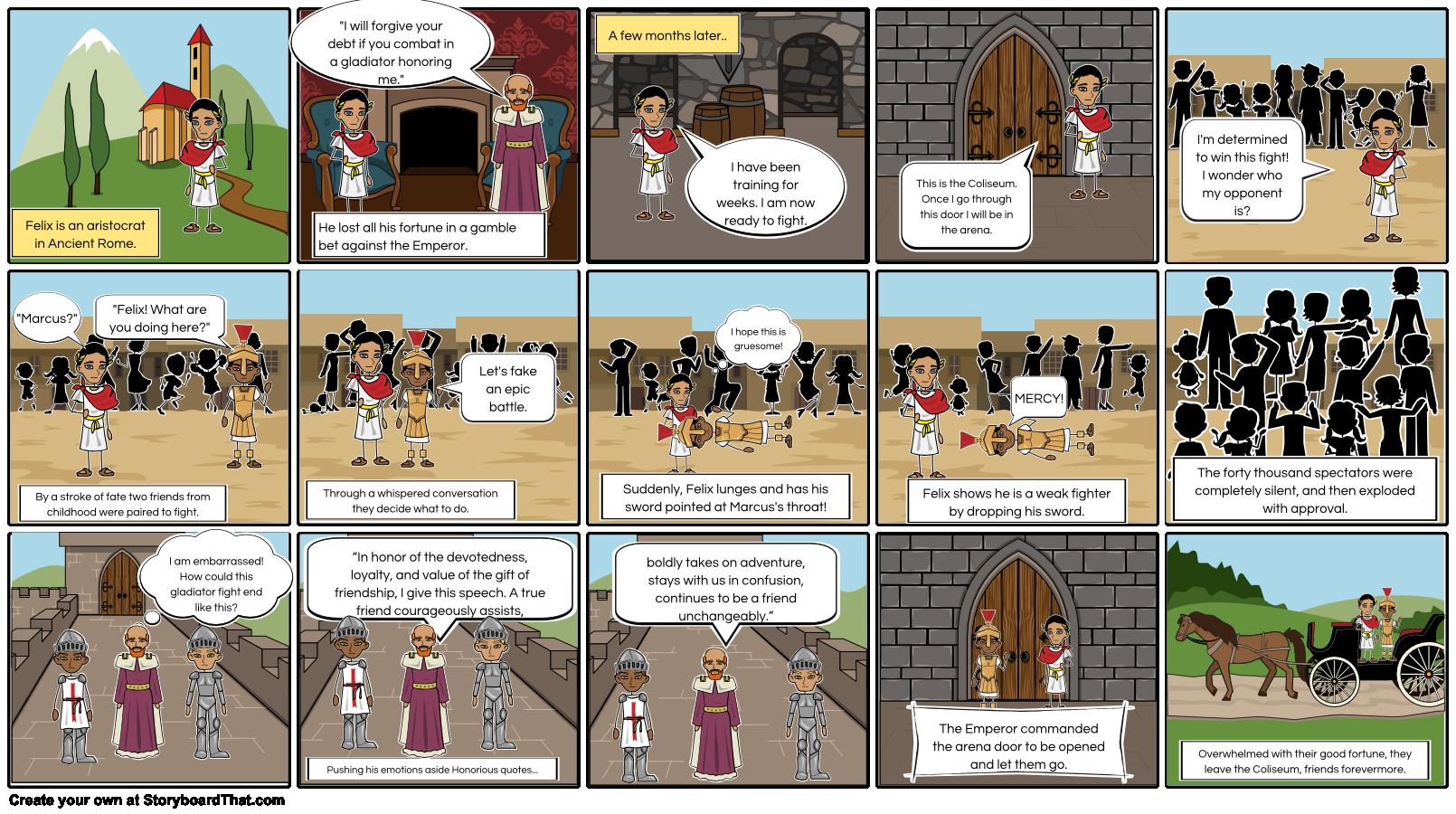 The Gladiator Narrative