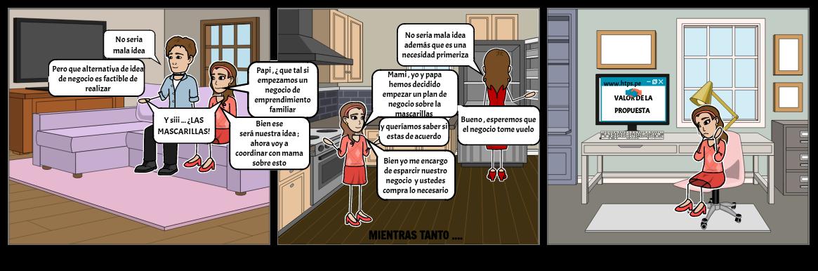 NEGOCIO DE EMPRENDIMIENTO FAMILIAR DE LAS MASCARILLAS