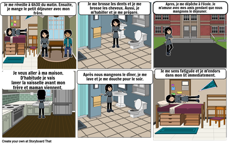 Ma Routine Quoitdienne