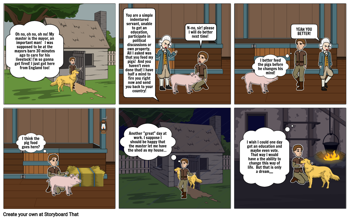 The Life of the Indentured Servant