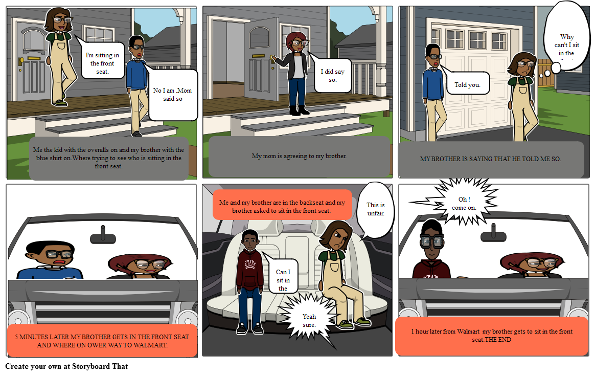 problems with the front seat   by Kaci Jackson