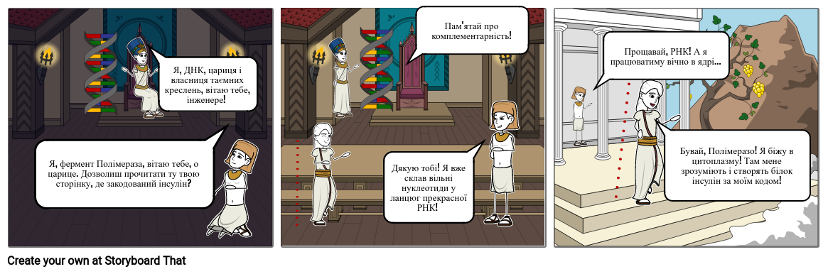 Транскрипція ДНК