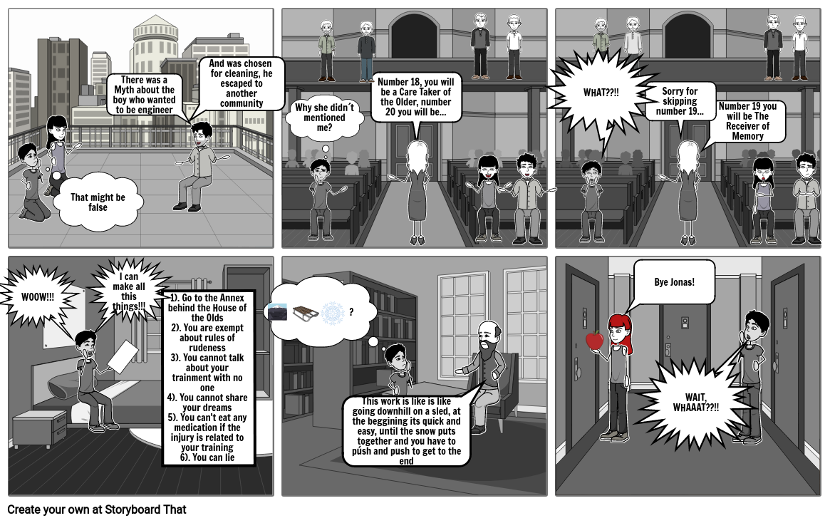 The Giver Comic