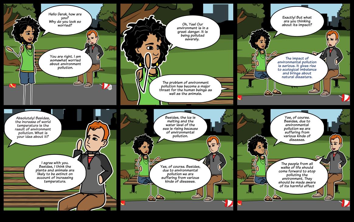 dialogue between teacher and student about smoking