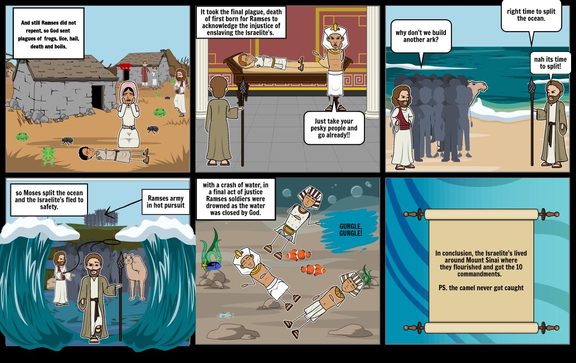 moses storyboard 3