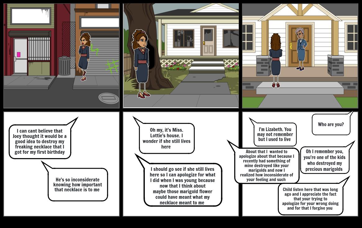 English Marigold story