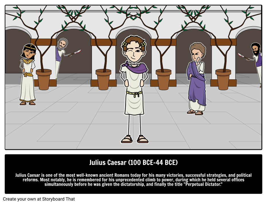Große Persönlichkeiten der Geschichte | Gaius Julius Cäsar des ...