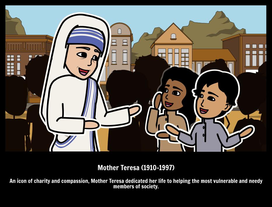 mother teresa biodata