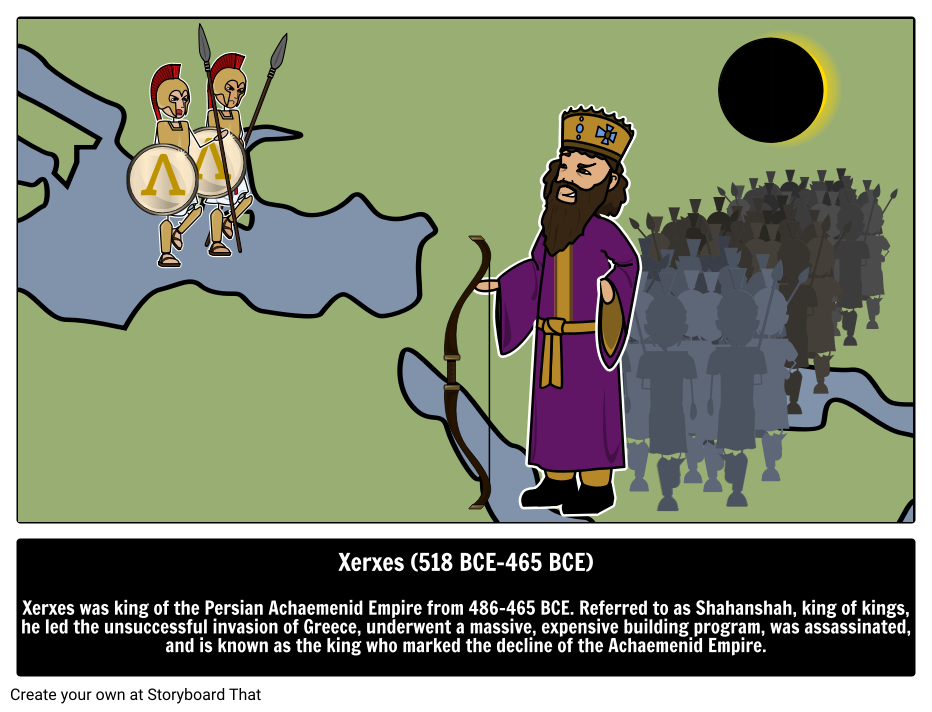 Xerxes The Great Biography