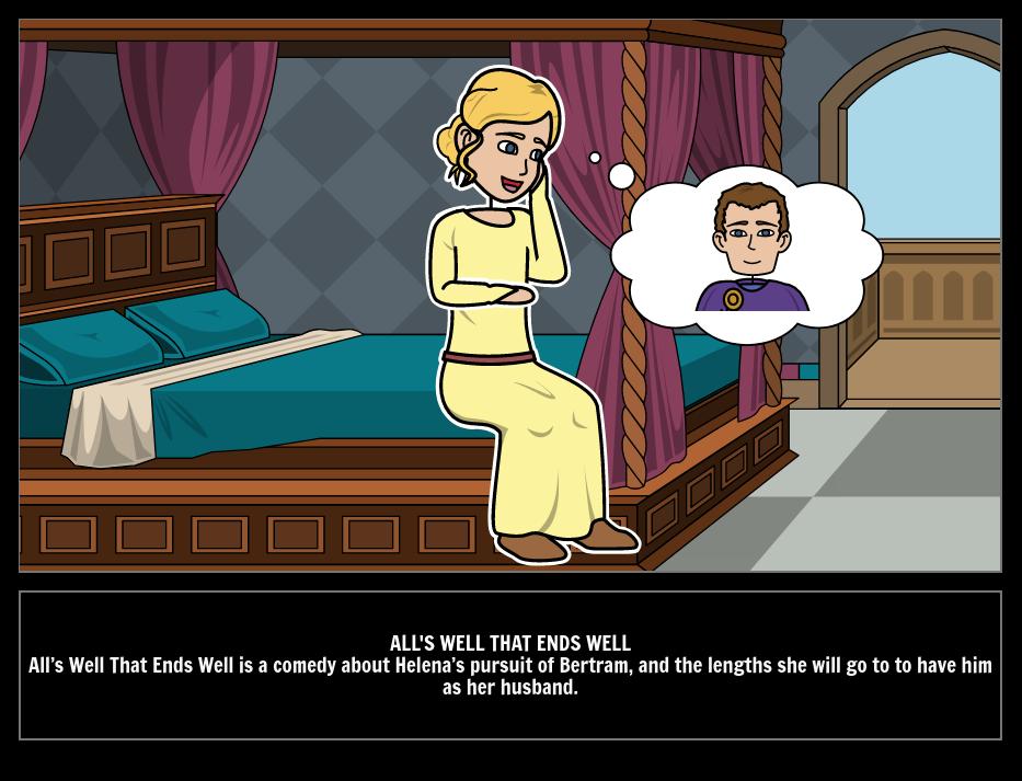 Alls Well That Ends Well Storyboard By Kristy Littlehale