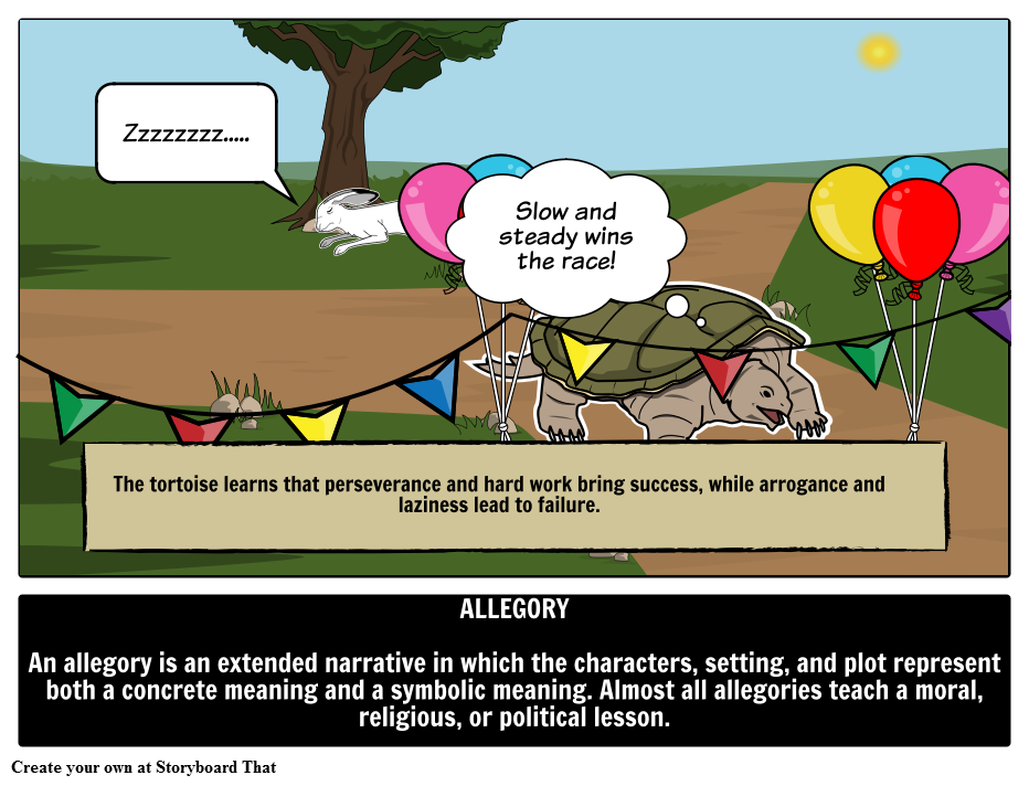 allegory examples in literature