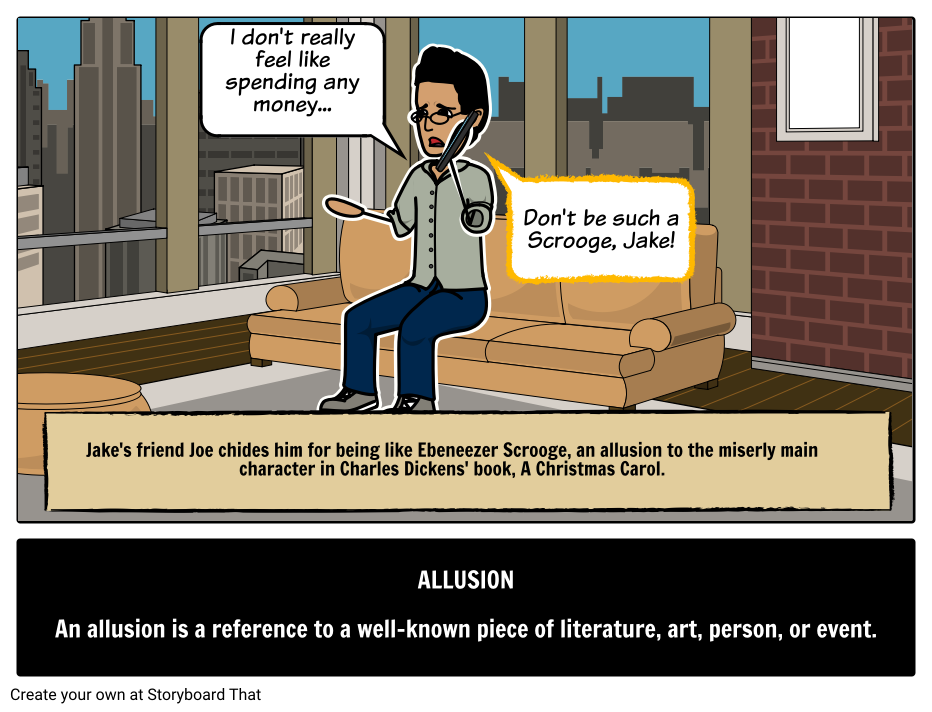 Allusion Definition Examples Literary Terms Elements