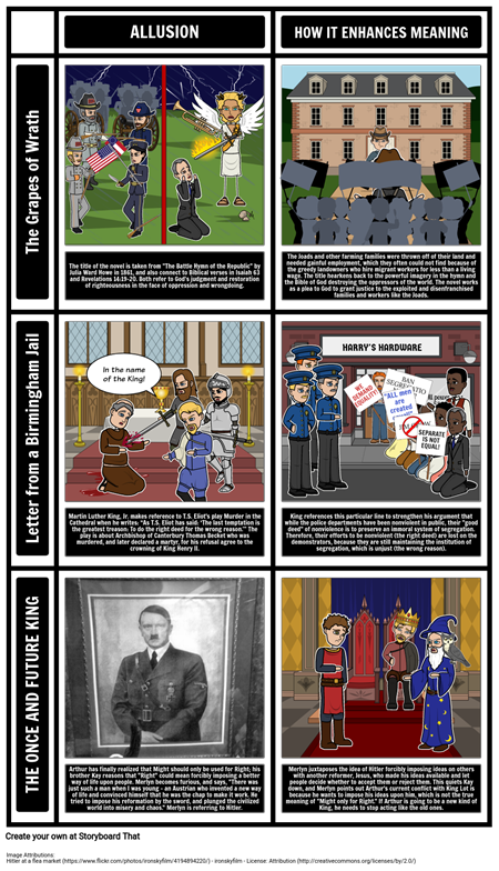 Allusions Examples