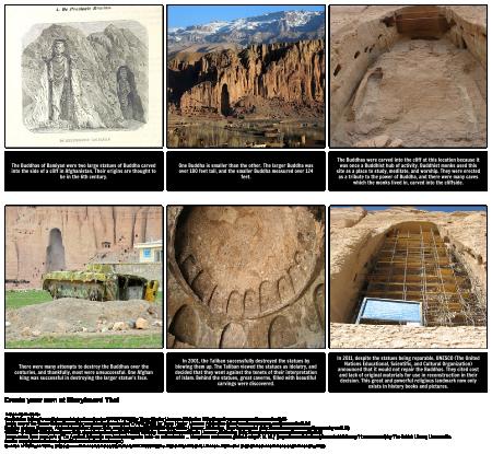 "Connecting with the Theme of ""Ozymandias"": The Bamiyan Buddhas"