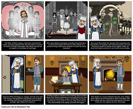 """The Canterbury Tales - Perspective in """"The Wife of Bath's Prologue"""""""