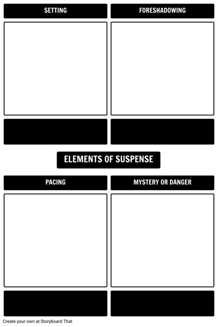 elements of suspense in literature