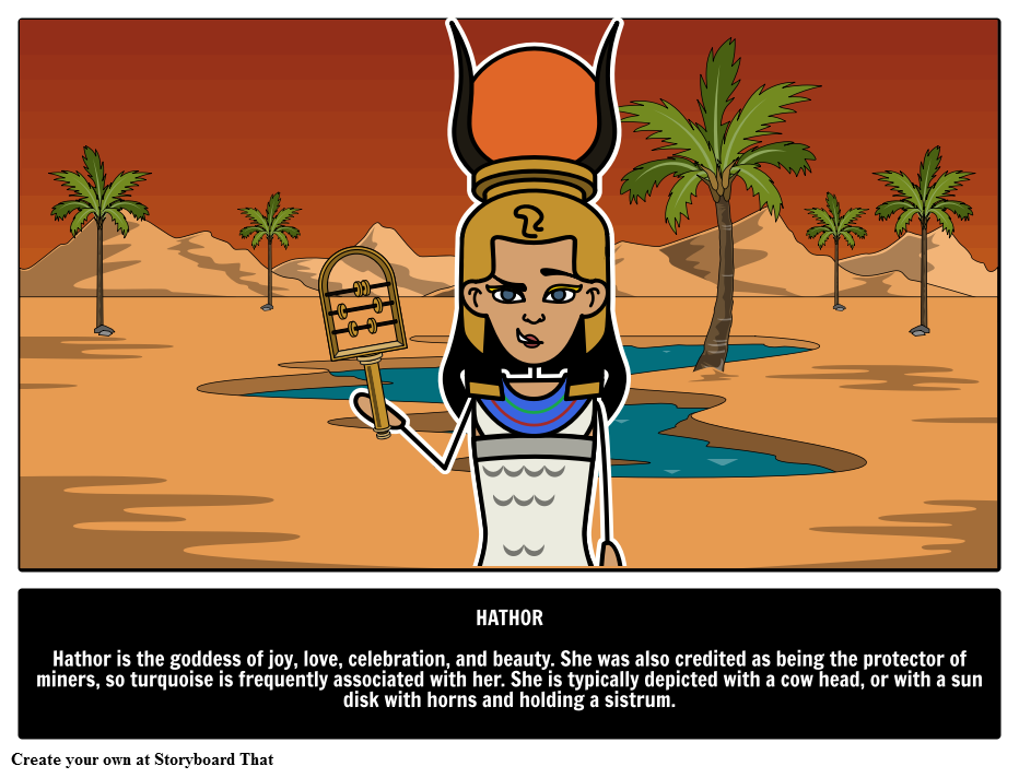 Hathor Egyptian Goddess Hathor Goddess Of Celebration