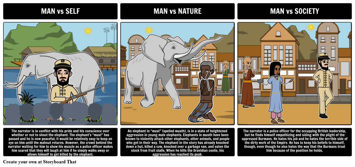 shooting an elephant imperialism