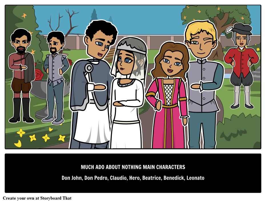 the story of love in shakespeares comedy much ado about nothing Using claudio and hero's love, shakespeare sets a lover's trap for benedick and  beatrice when the gloves come off, a comic love story is in the making love   society and customs - much ado about nothing has something for everyone.