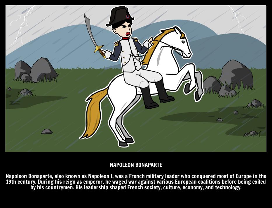 Wie Was Napoleon Bonaparte Franse Revolutie