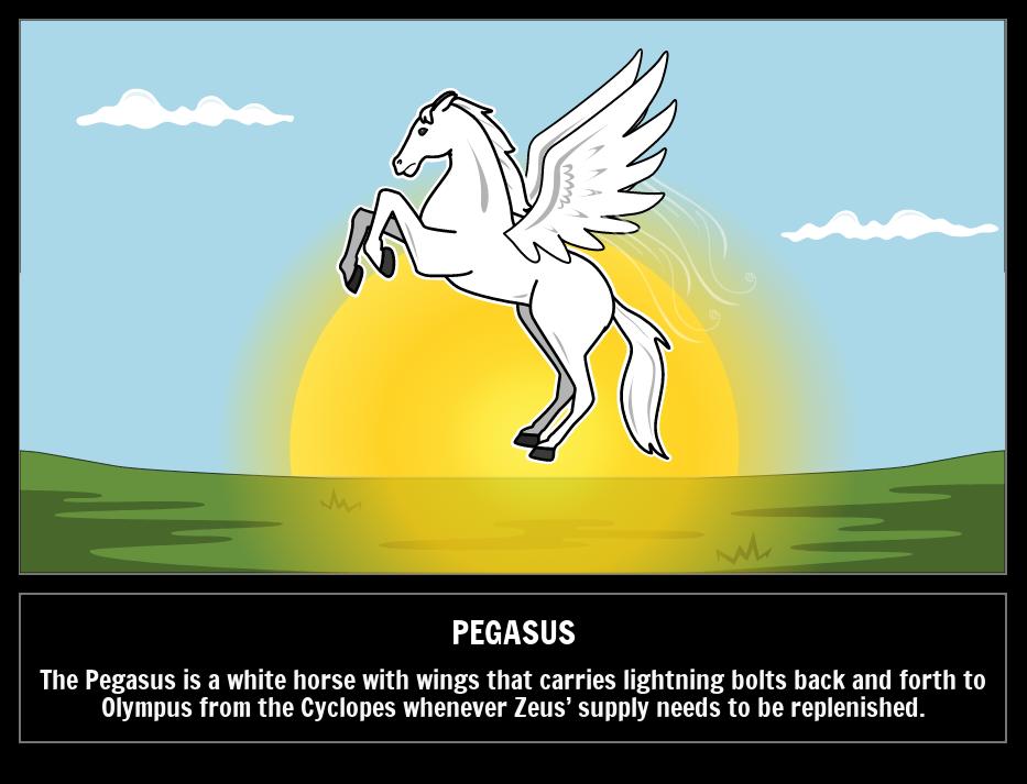 PegasusCriaturas Míticas Monstruos Mitos Griegos Griegas Y b7gyf6