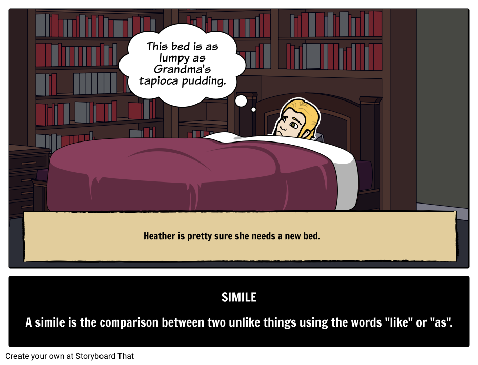 Simile Definition Meaning Examples Literary Terms