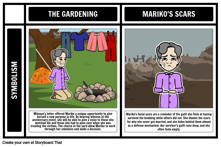 "Symbolism in ""Autumn Gardening"""