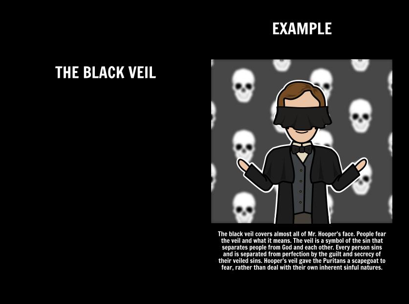 Essay on the ministers black veil symbols