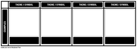 Themes, Symbols, and Motifs Template