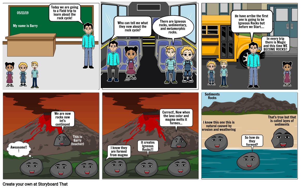 Rock Cycle Story: Sion Kim