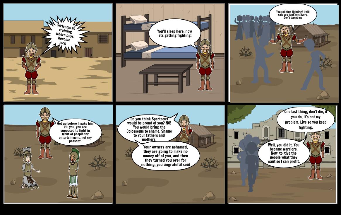 Gladiator Comic